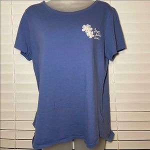 blue graphic t shirt old navy top tee